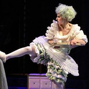 La Cenerentola (mit M. Perlt und M. K. Schäfer) | Theater Pforzheim, Foto: Sabine Haymann